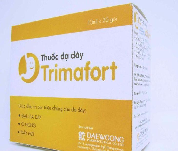 Thuốc đau dạ dày Trimafort