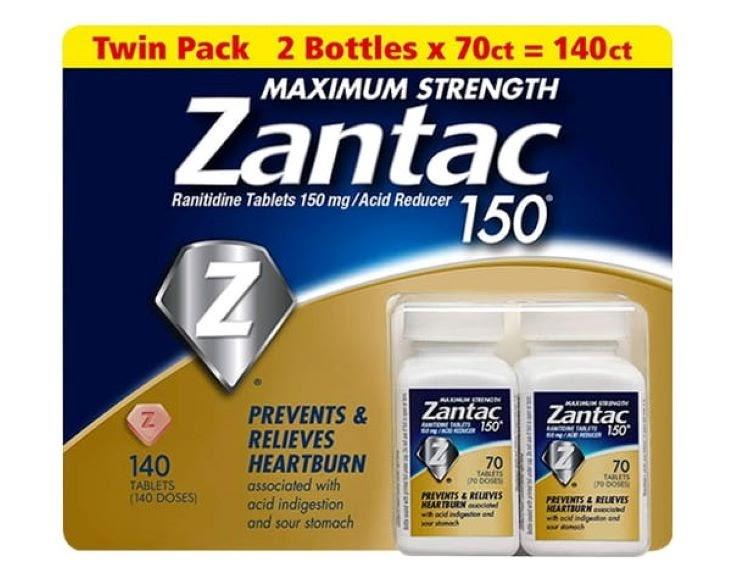 Thuốc đau dạ dày Zantac