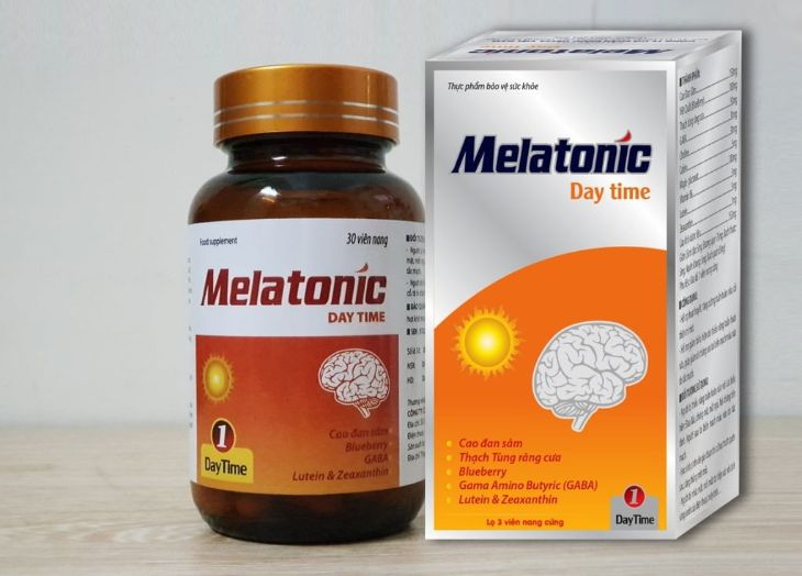 Viên thuốc ban ngày Melatonic không gây buồn ngủ
