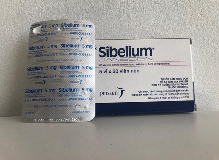 Thông tin về thuốc Sibelium