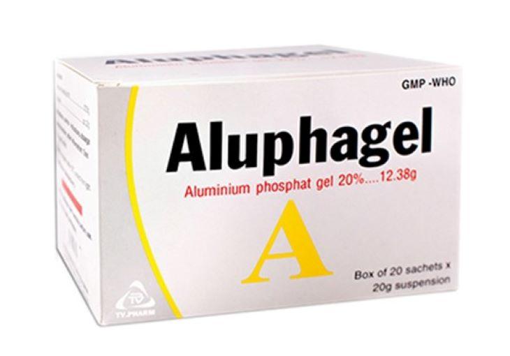 Thuốc chữa đau bao tử Aluphagel.