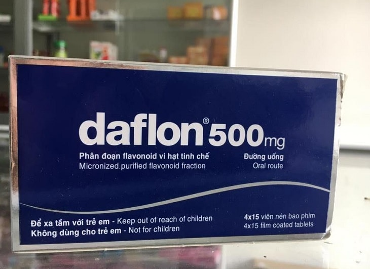Diosmin trong thuốc này có khả năng làm tăng độ bền thành mạch