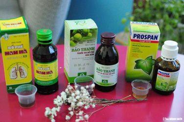 Người bệnh cần thận trọng khi mua các loại thuốc trị ho trên thị trường