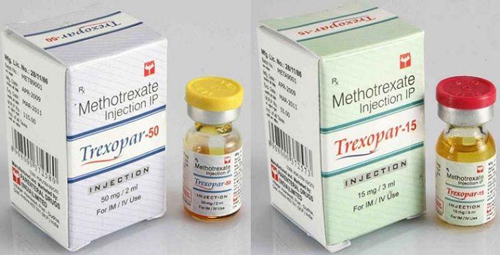 Thuốc uống Methotrexate chữa vảy nến hồng