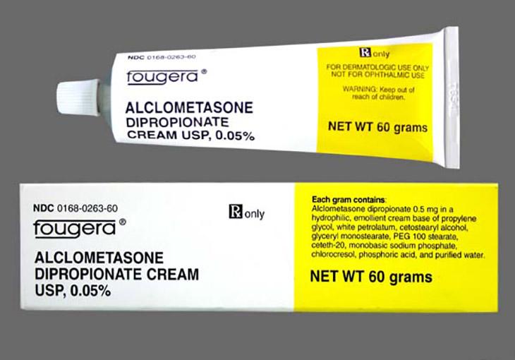 Aclometason là thuốc corticoid nhóm 2, dùng theo đơn của bác sĩ