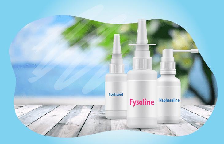 Với tác dụng kháng viêm và chống dị ứng, nhóm thuốc này có thể điều trị tình trạng nghẹt mũi, sổ mũi viêm niêm mạc do viêm xoang