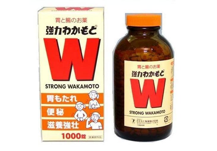 Thuốc viêm dạ dày của Nhật Strong Wakamoto