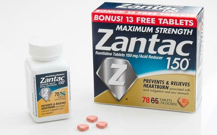 Thuốc ức chế giải phóng histamin H2 - zantac