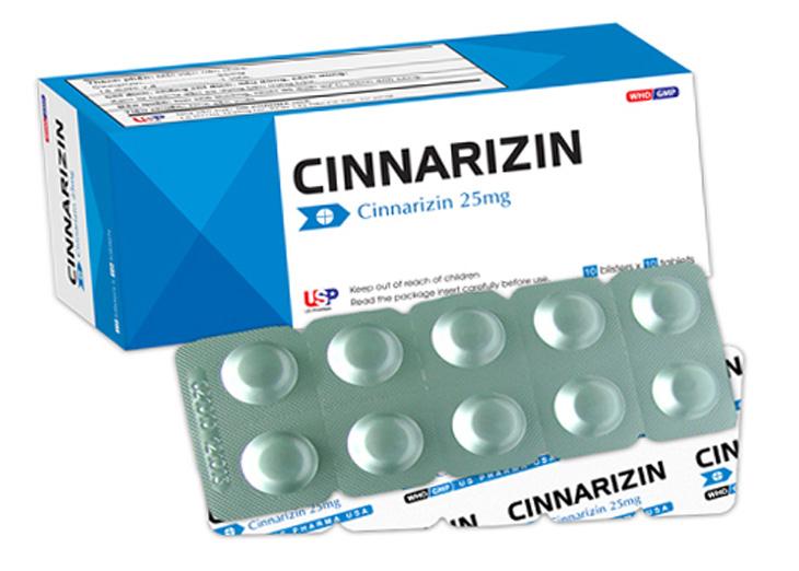 Thuốc đặc trị rối loạn tiền đình Cinnarizin