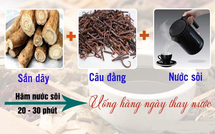 Bài thuốc chữa tiền đình từ trà thảo mộc