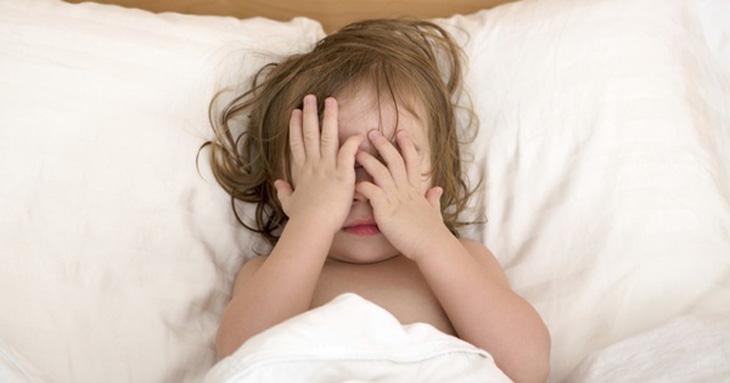 Khó ngủ ở trẻ là biểu hiện của chứng rối loạn giấc ngủ