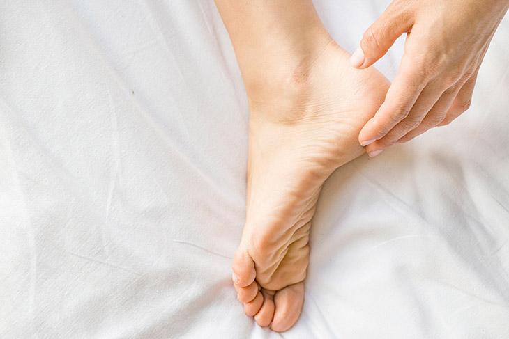 Giữ vệ sinh cơ thể nhất là vùng da chân