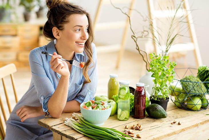 Ăn nhiều rau xanh sẽ tốt cho người bệnh
