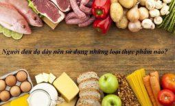 mắc bệnh về đường tiêu hóa ăn gì