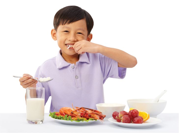 Thay đổi chế độ ăn cho trẻ