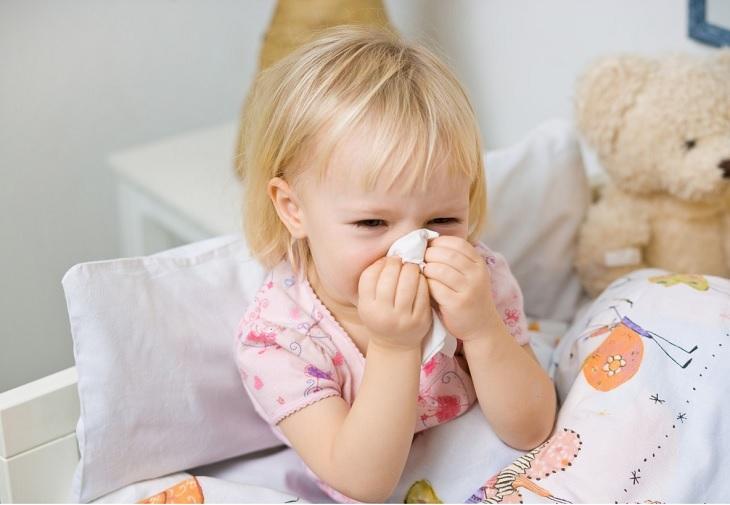 Trẻ em rất dễ bị lây viêm xoang mãn tính