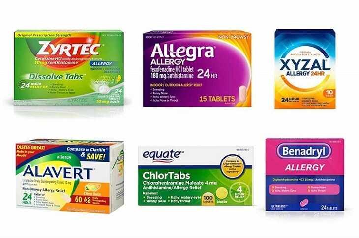 Người bệnh có thể thêm thuốc thông mũi claritin-D hoặc allegra-D khi bệnh nặng