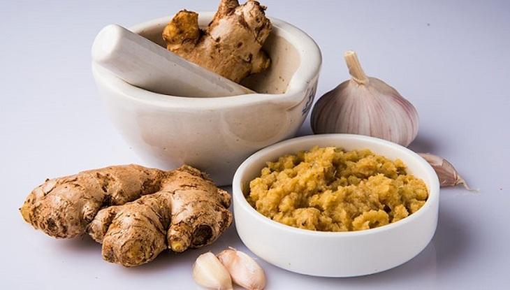Các thực phẩm có chứa chất kháng sinh rất tốt cho quá trình điều trị viêm xoang trán