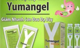 Thuốc dạ dày chữ Y Yumangel giúp cải thiện nhanh các triệu chứng đau dạ dày