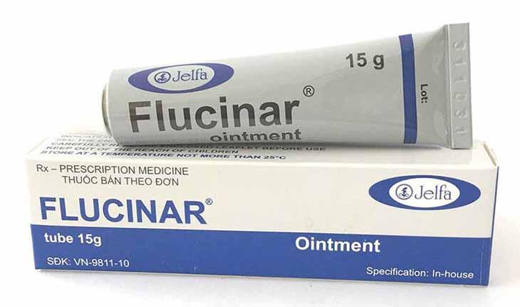 Thuốc Flucinar rất phổ biến trong chữa bệnh ở dạng nhẹ