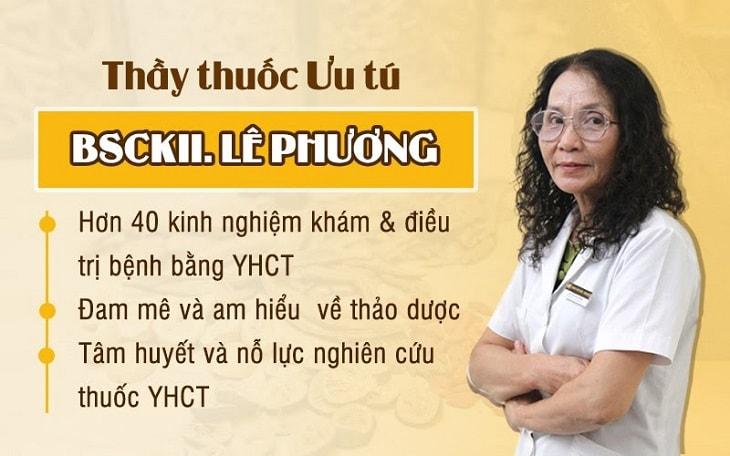 Bác sĩ chữa vảy nến giỏi hàng đầu Lê Phương