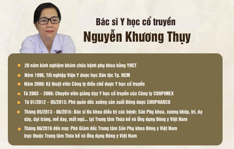 Lương y Nguyễn Khương Thụy được đánh giá là người thầy thuốc có Tâm - có Tài