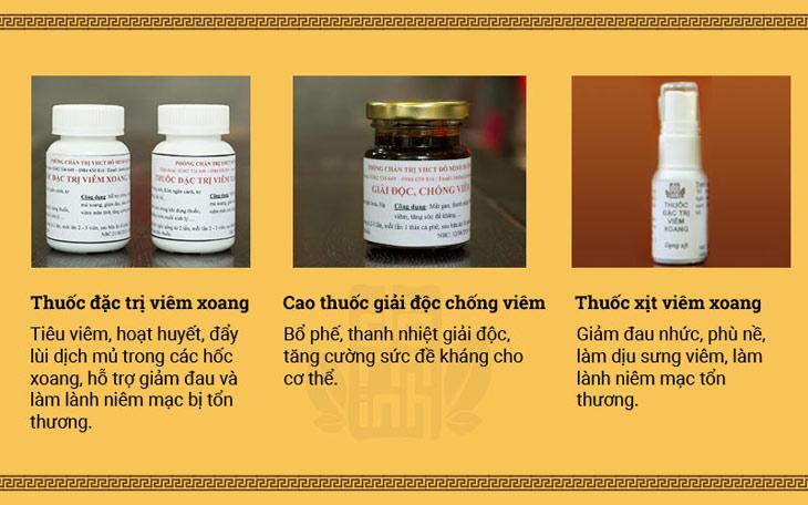Hình ảnh bài thuốc viêm xoang Đỗ Minh