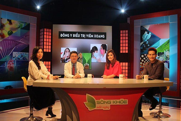 Lương y Đỗ Minh Tuấn tư vấn hướng điều trị viêm xoang bằng Đông y trên sóng truyền hình quốc gia