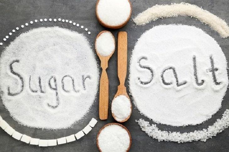 hãy loại bỏ muối và đường nếu muốn chữa sỏi thận hiệu quả
