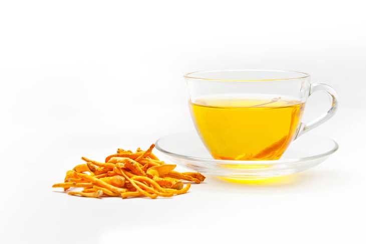 Trà đông trùng hạ thảo tốt cho sức khỏe người dùng