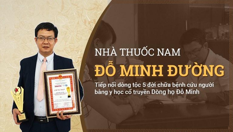 Nhà thuốc nam gia truyền 150 năm Đỗ Minh Đường - địa chỉ thực hiện cấy chỉ uy tín