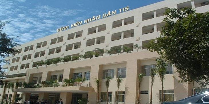 Bệnh viện Nhân dân 115 là bệnh viện hạng I tuyến Thành phố Hồ Chí Minh