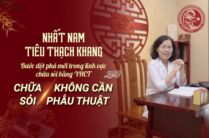 Nhất Nam Tiêu Thạch Khang đặc trị sỏi thận