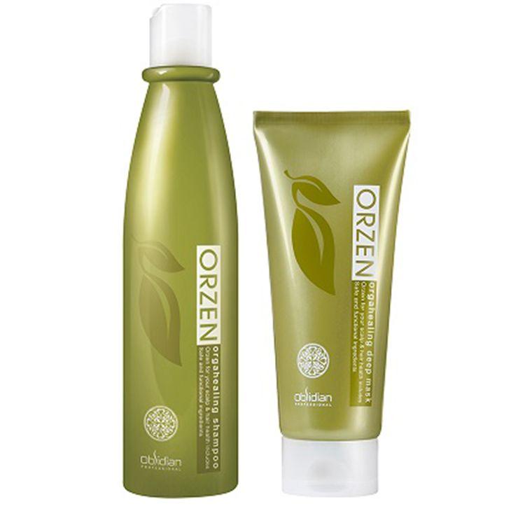 Dầu gội trị vẩy nến da đầu Orzen có thành phần thiên nhiên lành tính