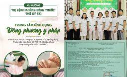 Trung tâm Ứng dụng Đông phương y pháp - Chữa bệnh không dùng thuốc