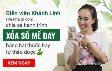 Diễn viên Khánh Linh (Về nhà đi con) tiết lộ tuyệt chiêu thoát khỏi mề đay mẩn ngứa bằng thảo dược tự nhiên