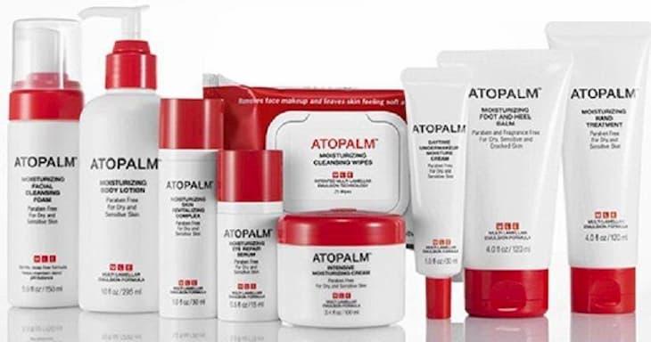 Kem dưỡng Atopalm có thành phần tự nhiên, an toàn