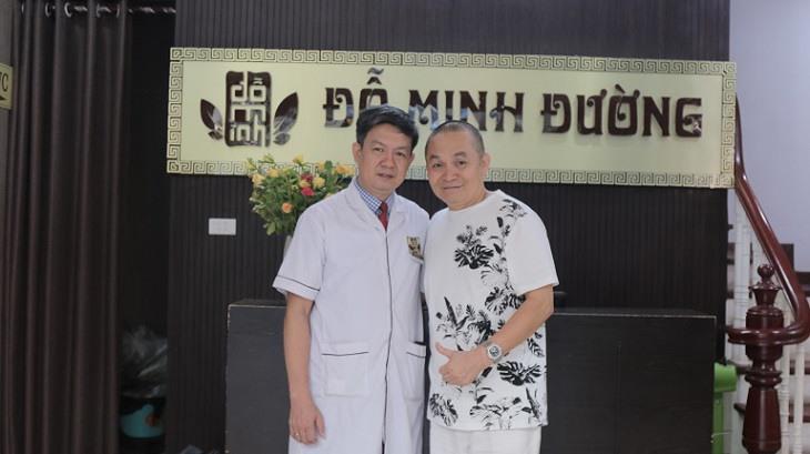 Nghệ sĩ Xuân Hinh lựa chọn Đỗ Minh Đường để chữa bệnh thoái hóa đốt sống cổ
