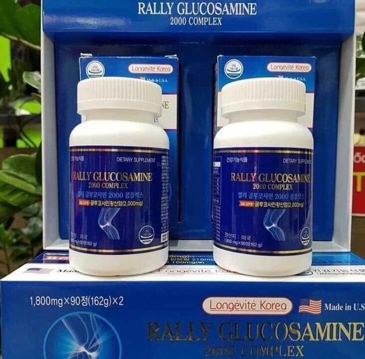 Thuốc xương khớp Rally Glucosamine 2000 Complex