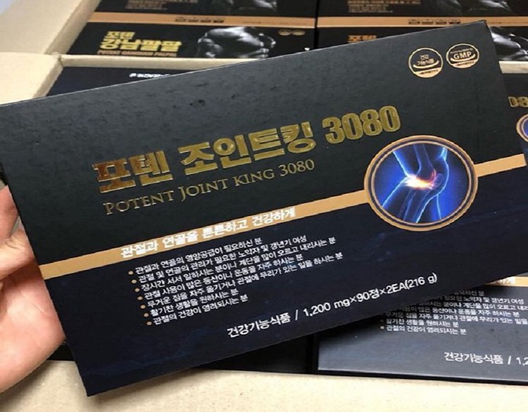 Thuốc thoái hóa cột sống Hàn Quốc Potent Joint King 3080