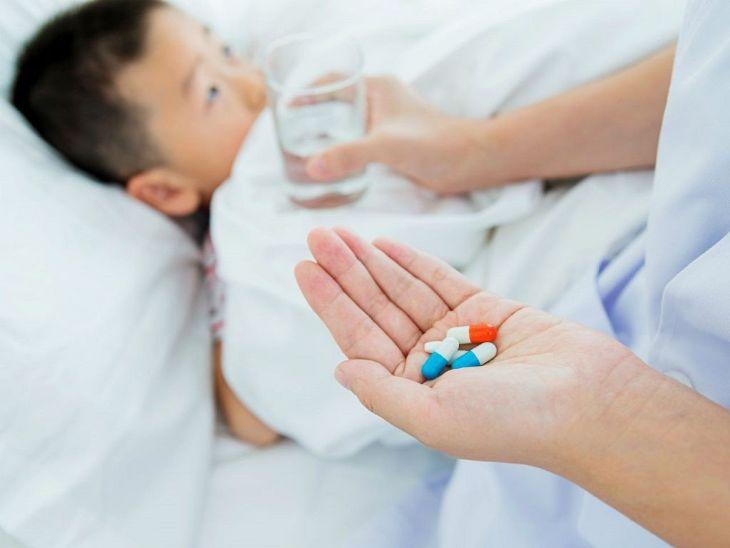Sử dụng thuốc Tây chữa viêm loét dạ dày loại dành cho trẻ