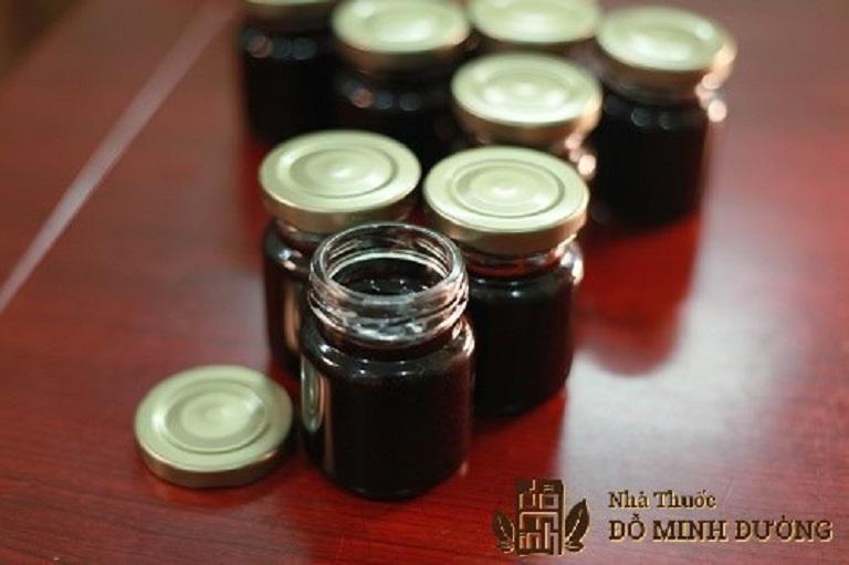 Nhà thuốc Đỗ Minh Đường tinh chế dược liệu thành dạng cao đặc