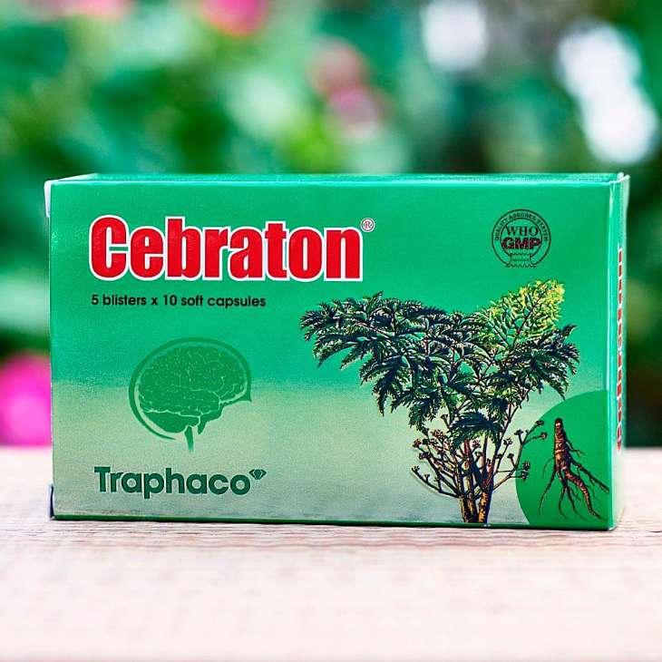 Thuốc tăng cường trí nhớ Cebraton