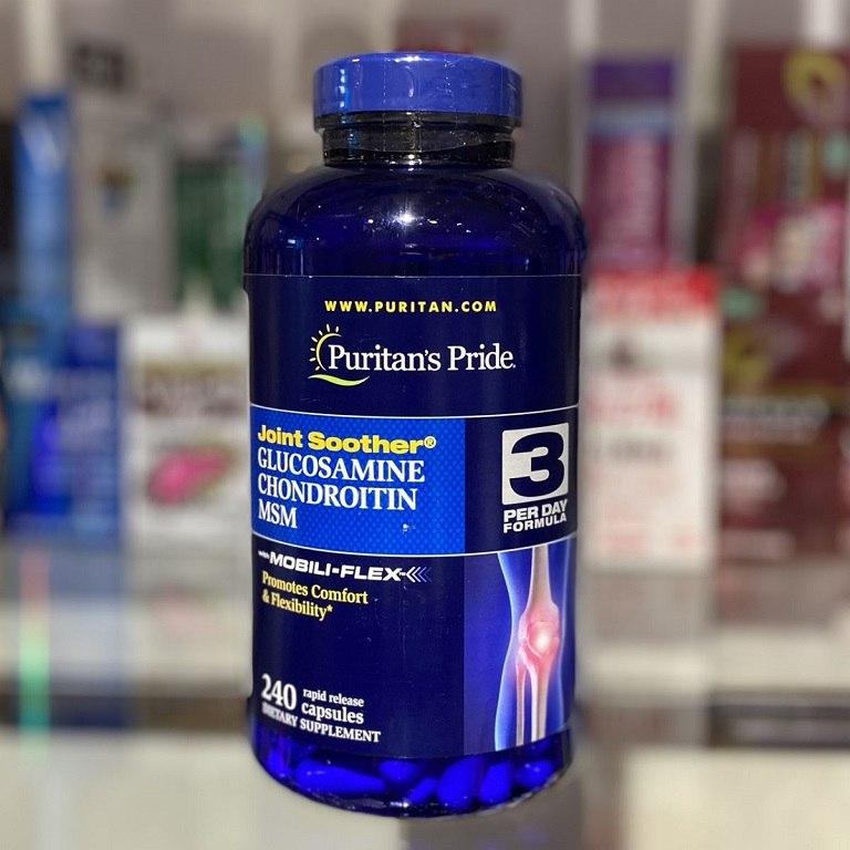 Thuốc Glucosamine MSM Puritan's Pride