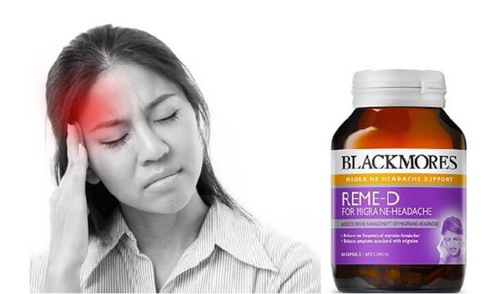 Thuốc tiền đình của Úc – Blackmores Reme-D được bào chế dưới dạng viên