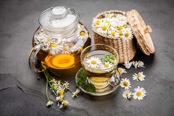 Hình ảnh trà hoa cúc nguyên bông