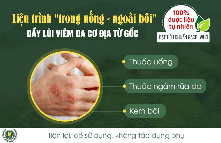 Bài thuốc Quân dân 102 có khả năng loại bỏ viêm da cơ địa từ gốc đến ngọn