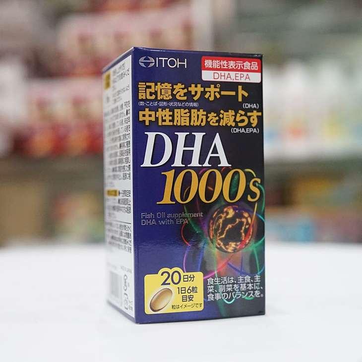 Viên uống DHA của Nhật Bản