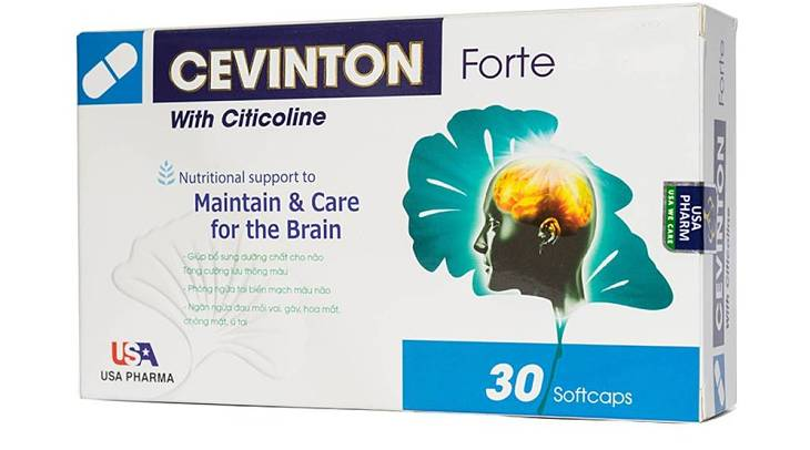 Viên uống Cevinton Forte