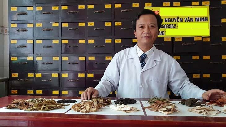 Lương y Nguyễn Văn Minh sở hữu nhiều bài thuốc chữa thoát vị đĩa đệm nổi tiếng